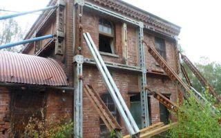 Особенности проведения реставрации ветхих жилых строений