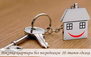 Покупка квартиры без посредников: 10 этапов сделки