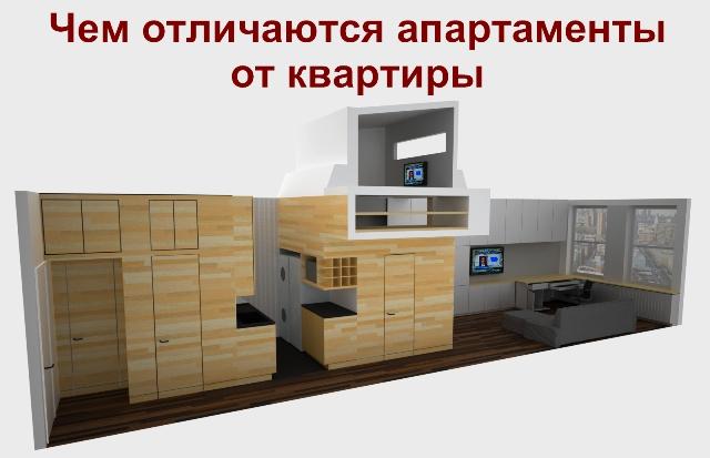 Апартаменты или квартира в чем их отличия